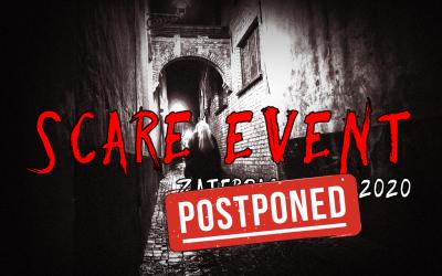Scare Event uitgesteld vanwege COVID-19